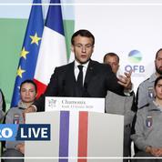 Le discours de Macron pour le climat et la biodiversité à Chamonix