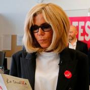 Brigitte Macron de retour à l'école pour la dictée ELA