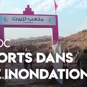 Maroc : l'inondation d'un terrain de foot fait 7 morts