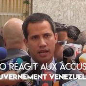 Venezuela : réaction de Guaido après une accusation de lien avec des narcotrafiquants