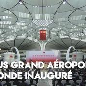 Chine : l'inauguration en grande pompe du plus grand aéroport du monde