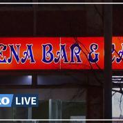Allemagne: les images des deux bars à chicha attaqués près de Francfort