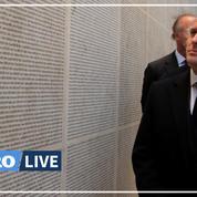 Au mémorial de la Shoah, Macron dénonce «le regain insupportable de l'antisémitisme»