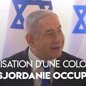 Israël légalise une colonie dans la vallée du Jourdain