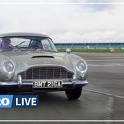 James Bond: essai de l'Aston Martin de «No Time To Die»