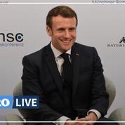Emmanuel Macron déplore «un affaiblissement de l'Occident» lors de la conférence sur la sécurité à Munich