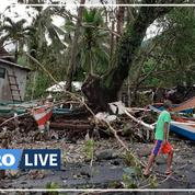 Philippines: les images du typhon meurtrier Phanfone