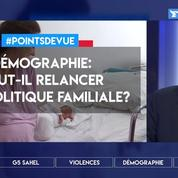 Baisse de la démographie: faut-il relancer une politique familiale?
