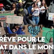 Tour du monde en vidéo de la grève pour le climat