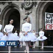 Retraites: l'orchestre de l'Opéra de Paris a manifesté en musique