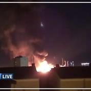 Espagne: une explosion entraîne un important incendie dans une zone pétrochimique