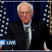 Investiture démocrate: Bernie Sanders n'abandonne pas la course à la Maison Blanche
