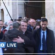 «Tout est revenu dans l'ordre»: Macron enlace le policier israélien avec qui le ton est monté
