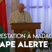 De passage à Madagascar, le pape alerte sur la déforestation