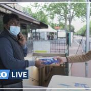 Coronavirus: 600 000 masques distribués en deux jours aux usagers des transports franciliens