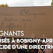 Enseignants : mobilisation à Bobigny après le suicide d'une directrice d'école