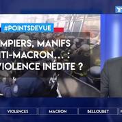 Pompiers, manifs anti-Macron…: une violence inédite?