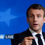 Brexit: Macron contre un nouveau report