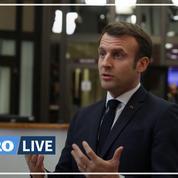 Emmanuel Macron «regrette» l'absence d'accord sur le budget de l'Union Européenne