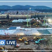Coronavirus: la construction de deux hôpitaux à Wuhan en timelapse