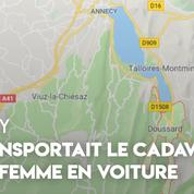 Annecy : un automobiliste arrêté avec le cadavre de son épouse dans une valise