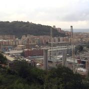 Gênes : le nouveau pont sort de terre