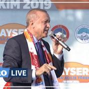 Erdogan menace «d'écraser les têtes» des combattants kurdes s'ils ne se retirent pas