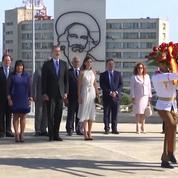 La visite historique de Felipe VI et Letizia d'Espagne à Cuba