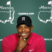 Masters : Tiger Woods en mode décontracté