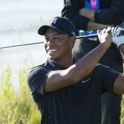 Wyndham Championship : Tiger Woods co-leader à mi-tournoi