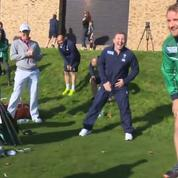 Rory McIlroy et ses amis rugbymen