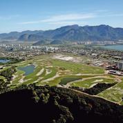 Le golf a la flamme pour les Jeux olympiques