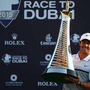 WT Dubaï : Rory McIlroy conserve sa couronne