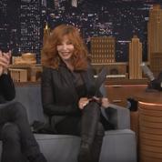 Mylène Farmer corrige le français de Jimmy Fallon à coup de poêle