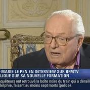 Zapping TV : la curieuse attitude de Jean-Marie Le Pen pendant une interview