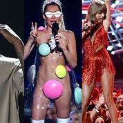 Kanye West président, Taylor Swift au top, Miley Cyrus sexy : ce qu'il faut retenir des MTV VMA's