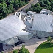 Le «vaisseau» Louis Vuitton en lumière sur Arte