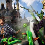 Les people face aux «Méchants» à Disneyland Paris