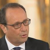 Les premières images de l'entretien exclusif de François Hollande sur Arte