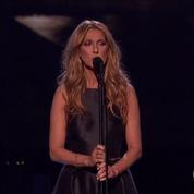 Céline Dion rend un vibrant hommage aux victimes des attentats