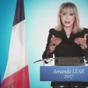 Amanda Lear candidate à la présidentielle de 2017
