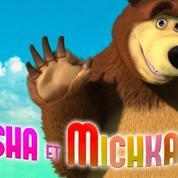Masha et Michka : plus d'un milliard de vues sur Youtube pour un épisode du dessin animé
