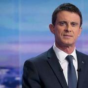 Manuel Valls reçoit BFMTV pour une émission en direct de Matignon
