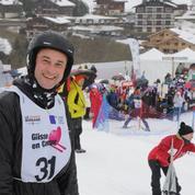 Les people skient pour la bonne cause