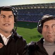 Cristiano Ronaldo et Lionel Messi arrivent aux Guignols de Canal+
