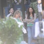 Bridget Jones 3 - Extrait de tournage avec Renée Zellweger- Abaca