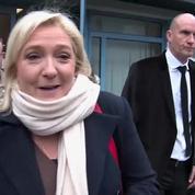 Élections régionales : Marine Le Pen a voté à Hénin-Beaumont, ce matin