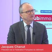 Club Immo Jacques Chanut, président de la Fédération française du bâtiment