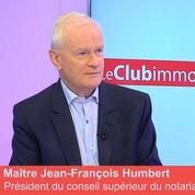 Club Immo Maître Jean-François Humbert, président du Conseil supérieur du notariat