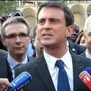 Noisy-le-Grand: Valls appelle à la mobilisation pour le 2e tour des départementales